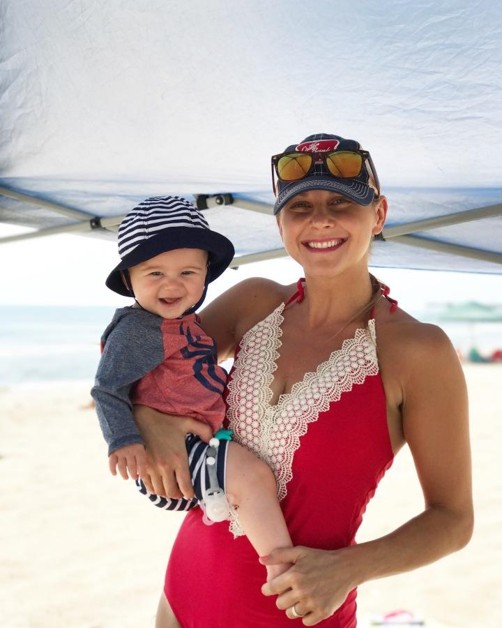 beach-baby-mama