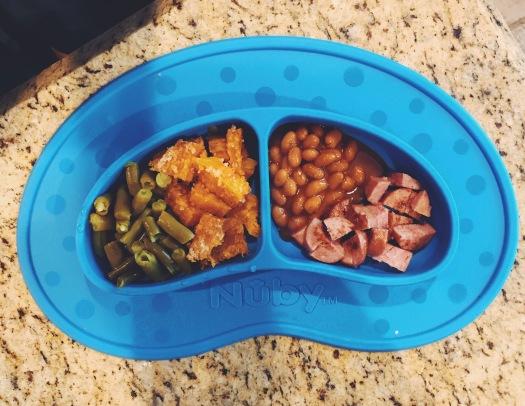 baby-finger-food-turkey-bakedbeans