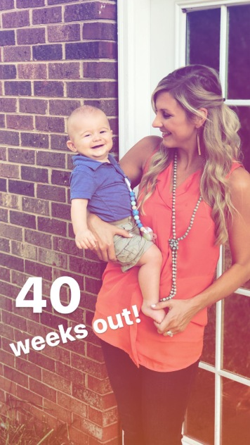 Mallory 40 Weeks Out