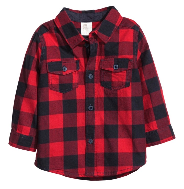 h&m-flannel-baby
