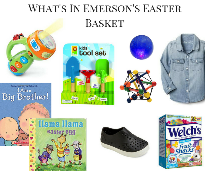 What's In Emerson's Easter Basket