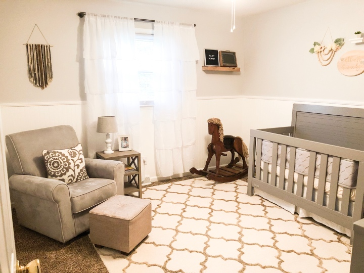 Elliott's Nursery Reveal