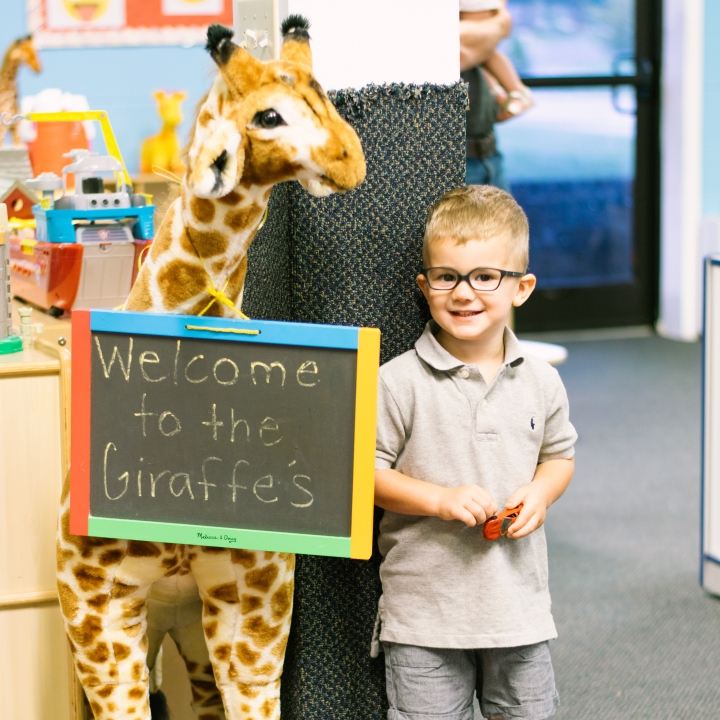Emerson's First Day – Giraffe's Class 2019/2020 School Year