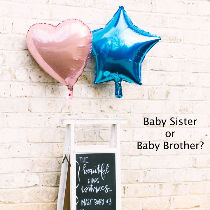 Baby #3 – Baby Sister or Baby Brother?